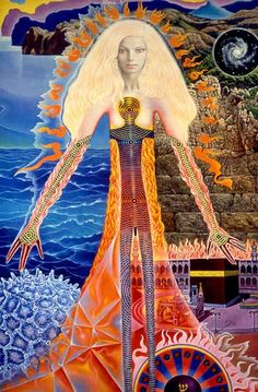 "Mati Klarwein ""Astral Body"""
