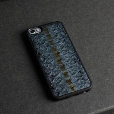 Luxury 3D Natural Python Skin Leather Cases for Iphone Models - middle blue / for iphone 6 6S plus