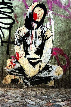 Friedrichshain, Berlin // street art by ALIAS, 2012