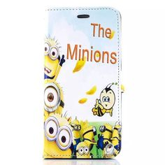 Cartoon New Despicable Me Minions Character PU Leather cover For apple ipad 2 ipad 3 ipad 4 case Tablet Protective Cover+film Minion Movie, Minions Despicable Me, Leather Cover, Pu Leather, Minion Rush, Minions Fans, Minion Banana, Digital Wallet, 6s Plus