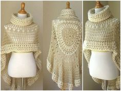 Crochet Poncho Pattern The WHOot