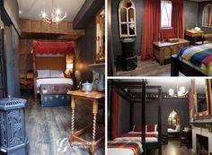 ロンドンには、魔法学校の学生気分を味わえるホテルがあるんだって