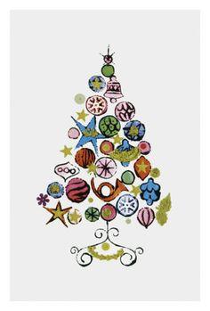 Christmas Tree c.1958 Andy Warhol