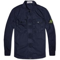 This Overshirt is a highly versatile Stone Island classic