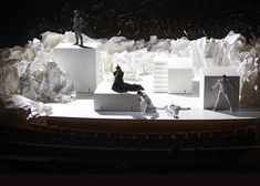Don Giovanni set design by architect Frank Gehry.