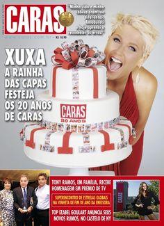 Rainha das capas | A história da vida de Xuxa em 39 capas de revista (e uma de disco)