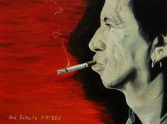 Keith Richards oil on canvas 18 x 24 cm reference photo: [link] Keith Richards Keith Richards, Oil On Canvas, Deviantart, Movie Posters, Film Poster, Billboard, Film Posters
