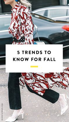 These trends are everywhere this fall—trust us. Fashion girls will be wearing this in just a few months.