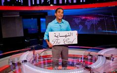 """Bassem Youssef known as """"Egypt's Jon Stewart"""" is no longer in Egypt because his comedy mocking the new President is not allowed there. Here's my The Daily Beast interview with Bassem. BTW he will be on The Daily Show tonight. Hope you find it of interest. Thanks:"""