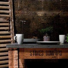 WABI SABI Scandinavia - Design, Art and DIY.: DIY - Zink top tables