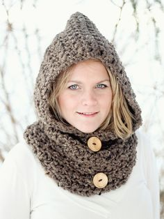 Ravelry: HOODIE Cowl The Toronto by Jocelyn Sass