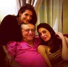 Amal with father and unknown woman.