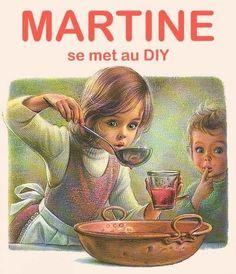 'Anita na cozinha' - Marcel Marlier Belgian) Marcel, Vintage Images, Vintage Posters, Old School Pictures, Decoupage, Retro Housewife, Cute Fairy, Anita, Vintage Drawing