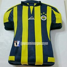 Fenerbahçe Taraftar Pastası (Fenerbahce Fan Cake)