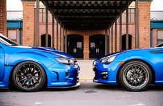 His STi and Her BRZ