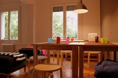 #hostel #wowhostelbcn #barcelona #commonarea #cozy #meal