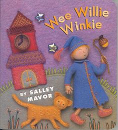 Autographed Wee Willie Winkie board book