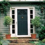 Why now: There's nothing lovelier than a gentle breeze wafting through the house on a balmy day. And by choosing an aluminum door with an interchangeable storm window, you can also save on heating costs come winter, especially if you have an older, uninsulated entry door. How to do it: Measure your entry-door opening, noting which side the hinges are on, and choose a corresponding screen door. Check the fit before installing; you'll likely need a hacksaw to trim the base of the door&#...