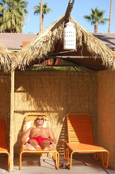 vintage sunshine palm springs  cool way to provide privacy