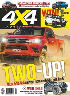 #4x4 #magazines #covers #realconnections #Hilux #Extracab