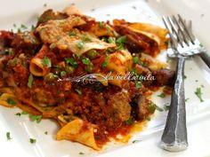 Cheesy, Layered Italian Pasta Torta #Sunday Supper