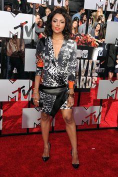 Pin for Later: Les stars étaient nombreuses hier soir aux MTV Movie Awards ! Kat Graham