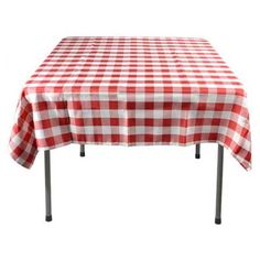 redneck party decorations red white check tablecover