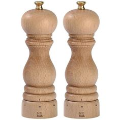 Buy Peugeot Paris Beech Wood U'Select Salt and Pepper set - - Natural Finish online with Houseology Price Promise. Full Peugeot collection with UK & International shipping. Salt And Pepper Mills, Salt And Pepper Grinders, Salt Pepper Shakers, Peugeot, Paris, Brown Kitchens, Le Moulin, Wood Turning, Pen Turning