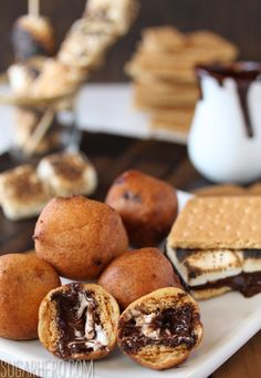 Deep Fried S'mores