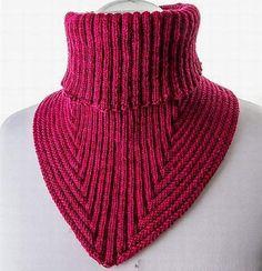 """Описание вязания спицами манишки """"Вдохновение"""" от Nikola Susen"""