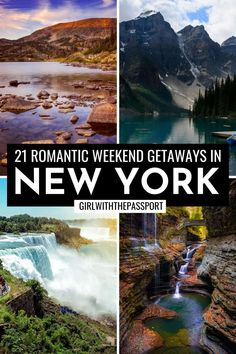 21 Amazing Romantic Getaways in Upstate New York - Girl With The Passport New York Travel Guide, Travel Tips, Nyc Instagram, Romantic Weekend Getaways, City Restaurants, Upstate New York, Top Destinations, Plan Your Trip, Cool Places To Visit