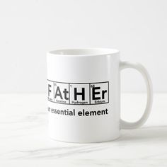 Shop Father essential element Mug Father's Day gift created by astralcity.