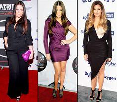 Khloe Kardashian's Body Evolutionzzz
