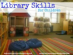 Library Skills for Children {Guest Post}
