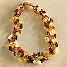 Lithuanian Amber Jewelry from the National Geographic Store! Amber Necklace, Amber Jewelry, Cute Jewelry, Gemstone Jewelry, Jewelry Ideas, Lithuania, Poland, Honey Brown, Plexus Products