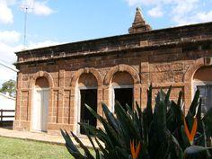 Casa de pedra em estância no Alegrete