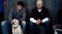 Marcus Luttrell and Chris Kyle were friends.Rigby,Marcus dog.