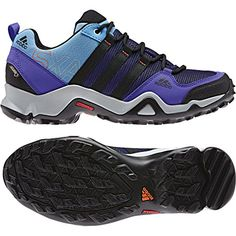 Adidas Outdoor Women's AX 2 GTX Purple Sneakers 10 M *** Click image for more details.