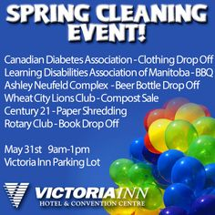 Don't miss our Spring Cleaning Event in Rotary Club, Shredded Paper, Convention Centre, Spring Cleaning, Beer Bottle, Victoria, Beer Bottles
