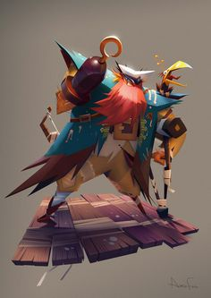 Limb Pirate! by Amin Faramarzian | Illustration | 2D | CGSociety