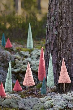Cute decorative sisal trees #anthrofave http://rstyle.me/n/taeu6nyg6