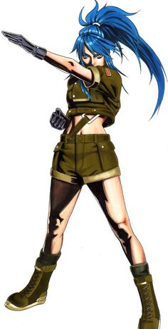 37 Leona Heidern Ideas King Of Fighters Fighter Fighting Games