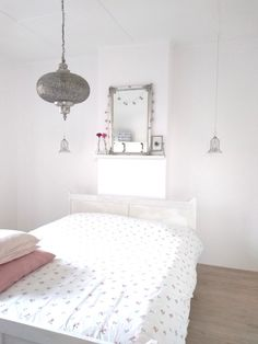 Bedroom, white, moroccan style 🌸