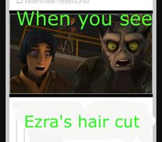 #Ezra Star Wars Rebels Star Wars <---- this perfectly relates to me