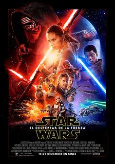 """DISNEY nos presenta una de las películas más esperadas del 2015 que está por terminar, una de las franquicias más exitosas del cine, esta vez en su séptimo episodio: """"Star Wars, el despertar de la fuerza""""."""