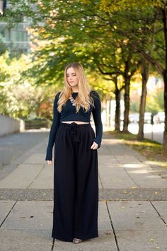 Palazzo Pants Style Outfits