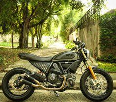 Ducati ScrambleR ModS Cafe Racer Custom Scrambler Icon, Scrambler Custom, Ducati Scrambler, Moto Ducati, Ducati Cafe Racer, Triumph Motorcycles, Cars And Motorcycles, Moto Cafe, Motorcycle Clubs