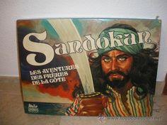 JUEGO DE MESA SANDOKAN, AÑOS 70