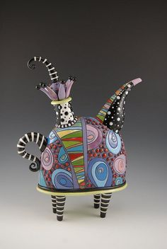 Natalia Sots | ceramic teapot. [I've been following Natalia for a while now, and…