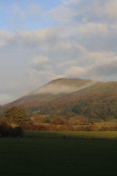 Mist on the Shropshire Hills